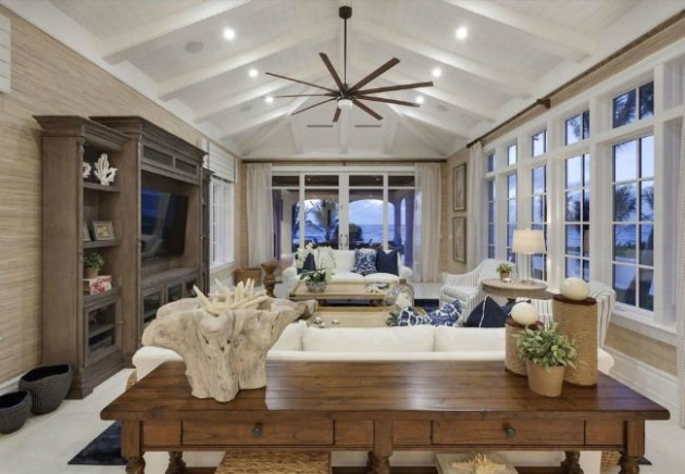 Vaulted Ceilings 14: The Pros, Cons, and Details on Installation .. | living room vaulted ceiling