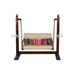 Walnut Color Living Room Furniture Swing Jhula Pakistan Traditional Swings  9 Seater Wooden Jhoola Indoor Natural Rosewood Swings - Buy Golden Antique  ... | living room jhula