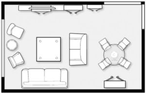 What is the average size of a living room? - Quora | living room size