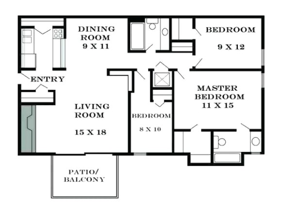 What is the average size of a living room? - Quora - living room size | living room size