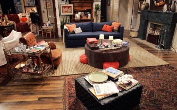 will and grace apartment decor - Buscar con Google | Cool .. | will and grace living room painting