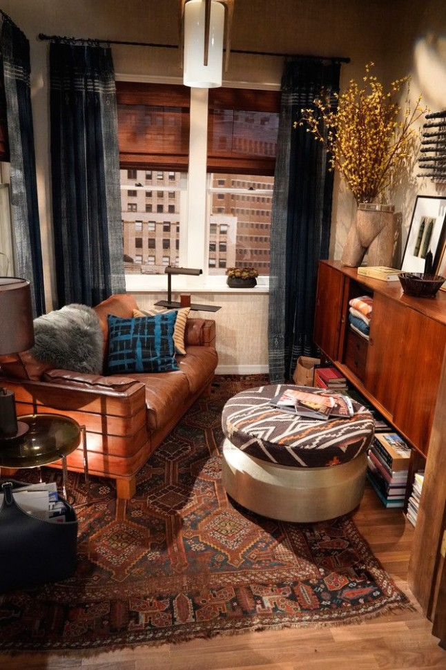 Will and Grace Revival: See How the Set Got a Makeover | Design .. | will and grace living room painting