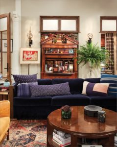 Will's Apartment from Will & Grace - Scene Therapy | will and grace living room painting
