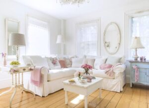 15 Adorable Shabby Chic Living Room Ideas You'll Love | Chic Living Rooms