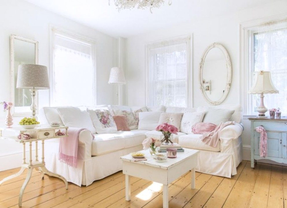 15 Adorable Shabby Chic Living Room Ideas You