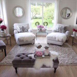 15 Chic Decorated Living Rooms   Chic Living Rooms