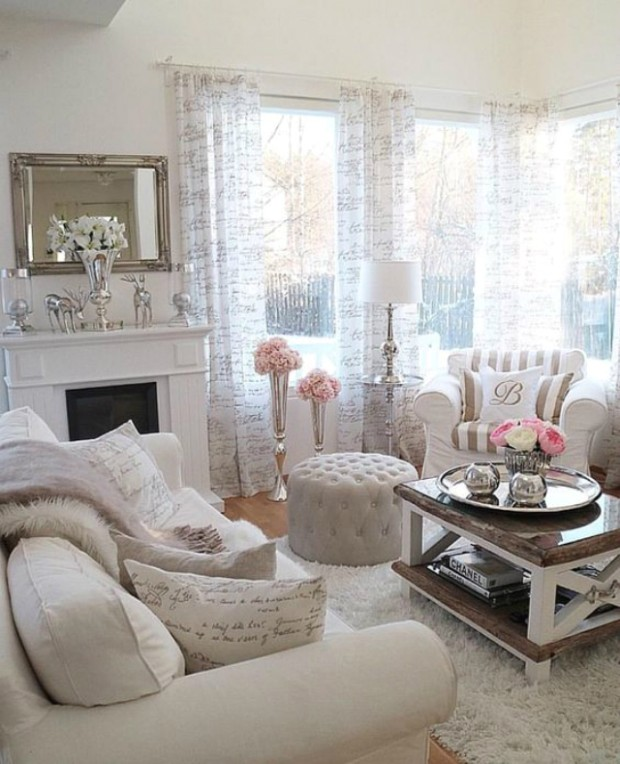 15 Chic Decorated Living Rooms - Chic Living Rooms | Chic Living Rooms
