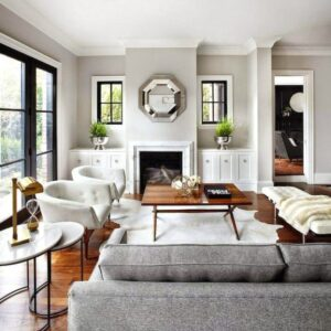15 Contemporary Chic Living Room Design Ideas (With images ... | Chic Living Rooms