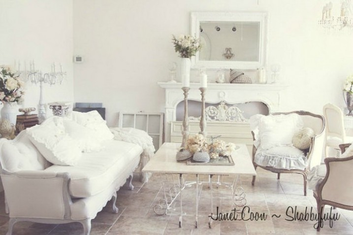 15 Dream Shabby Chic Living Room Designs | Decoholic - Chic Living Rooms | Chic Living Rooms