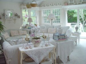 15 Dream Shabby Chic Living Room Designs   Decoholic   Chic Living Rooms