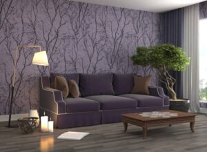 15 Ideas For Decorating With Purple For A Modern Space | Freshome.com | purple living rooms ideas