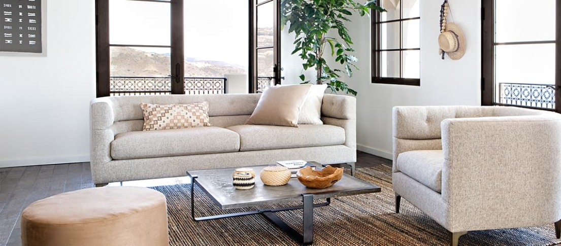 Beige Color Guide: Tips for a Natural Aesthetic | Living Spaces - Aesthetic living room | Aesthetic living room