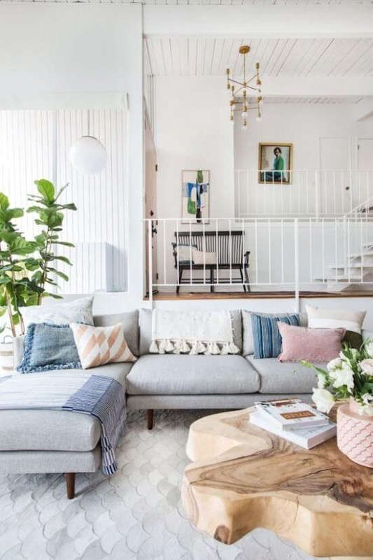 Easy Decor Updates That Will Completely Transform Your Aesthetic .. | Aesthetic living room