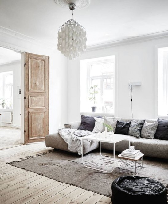 How to Get the Scandinavian Aesthetic in Your Living Room - Simply .. | Aesthetic living room