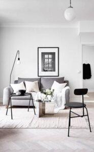How to Get the Scandinavian Aesthetic in Your Living Room - Simply ... | Aesthetic living room