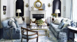 The Key Characteristics That Define a French Country Living Room | french country living room