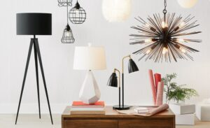 Types of Lamps for the Living Room and More - The Home Depot | living room lamps