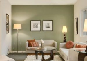 11 Contemporary Grey and Green Living Room Designs   Paint colors ..