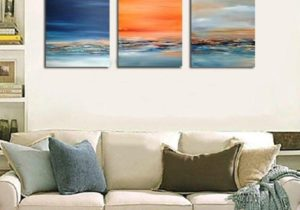 16 Handmade Wall Art Modern Oil Painting Abstract Paintings Picture On  Canvas Wall Pictures For Living Room Free Shipment Seascape From ..