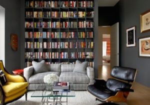 17 Interesting Ways to Add Bookshelves in the Living Room   Home ..