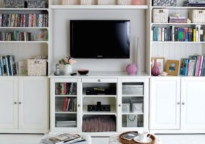 18 Simple But Smart Living Room Storage Ideas | Small living room ..