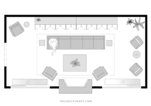 19 Furniture Layout Ideas for a Large Living Room, with Floor Plans ..