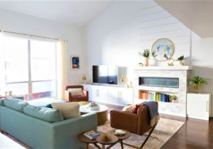 20 Incredible Before-and-After Living Room Makeovers – living room makeover