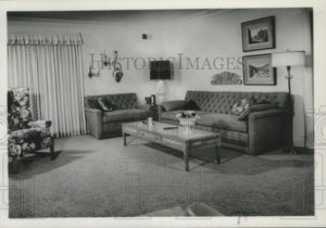 20 Press Photo Living room interior design – spa20 – living room 1960