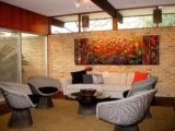 20's Architect's home refurbished with color, textiles and ..