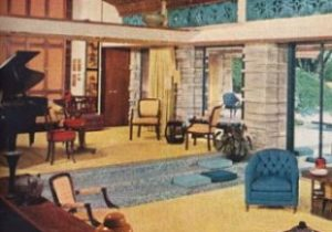 20s Furniture Styles Pictures – Interior Design from the 20s – living room 1960