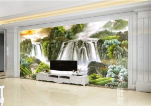 21d Wallpaper Living Room Beautiful Scenery Large Waterfall 21d Beautiful  Scenery Wallpaper Decorative Wall Moisture Proof Beautiful Wallpaper Girl  ..