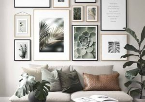 9 Marvelous Gallery Wall Living Room Ideas – idecoration – living room gallery wall