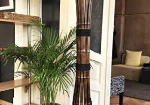 Amazon.com: Floor Lamp, Bamboo Furniture, Yoga Studio Decor ..