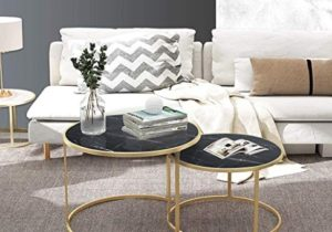 Amazon.com: Nesting Coffee Tables for Living Room Table Sets ..