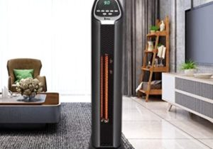 Amazon.com: SSLine Electric Tower Infrared Heater Portable Space ..