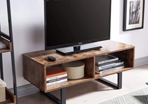 AMOAK Industrial TV Stand with Storage Shelf for Living Room, TV Console  Storage Cabinet, Retro Coffee Table Easy Assembly, Retro Brown – living room tv