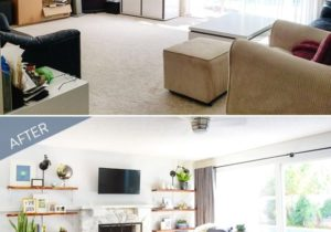 Before and After: A Stylish Living Room Transformation | Living ..