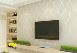 Beige,White,Grey Luxury Modern Wallpaper For Bedroom Walls Covering Living  Room Wallpapers Roll Geometric Wall Paper Home Decor – living room wallpaper
