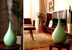 Breathe Easy: Middle Colors Humidifier – At Home with Kim Vallee – living room humidifier