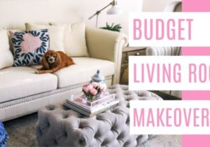 Budget Living Room Makeover – at home with Ashley – living room makeover