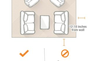 Choose the Right Rug Size for Any Room – The Home Depot Blog – living room rug size