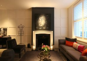 Clever lighting tricks that make your home beautiful | Yes Please – living room uplighting