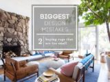 Design Mistake #19: The 'Too Small Rug' – Emily Henderson – living room 5×8 rug