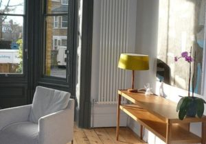 Downpipe Window Panelling and Console Table | Radiators living ..
