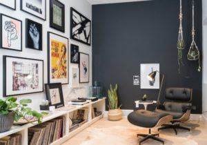 Easy-As-Hell Home Décor: How To Make A Gallery Wall For $9 Less – living room gallery wall