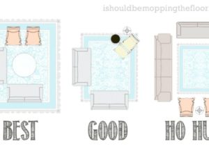 Easy Guide to Area Rug Placement with diagrams; #rug ..