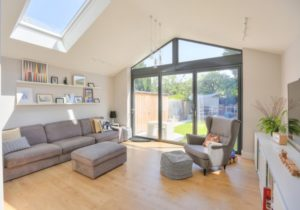 Extension to 10's Semi – Contemporary – Living Room ..