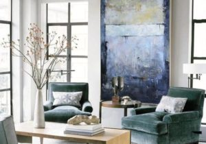 extra large wall art on canvas, huge wall art, modern abstract art  paintings, large living room canvas art, oversized wall art canvas EM16 – living room paintings
