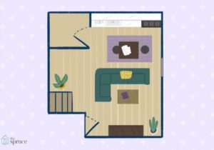 Furniture Arrangement Ideas for a Small Living Room – living room floor plan