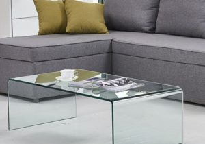 Glass Coffee Table End/Side/Cocktail Table Living Room Table – living room glass table